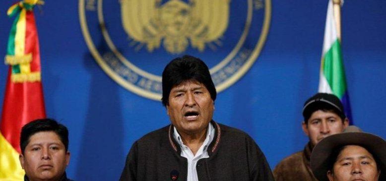 Morales partisinin başkan adayını açıkladı