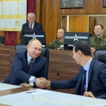 Putin Şam'da Esad'la görüştü