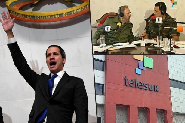 Sansürcülük kanında var: ABD kuklası Guaido'dan, bağımsızlıkçı medyayı susturma girişimi