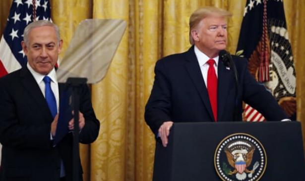 Trump 'Yüzyılın Planı'nı açıkladı: 'Kudüs bölünmemiş bir şekilde İsrail'in olacak'