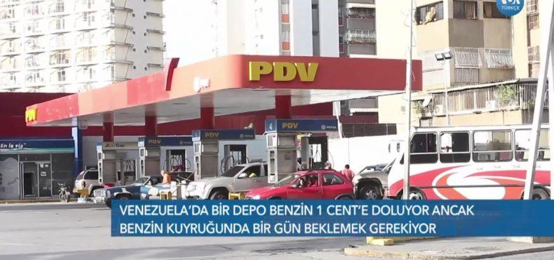 Venezuela'da Benzin Sıkıntısı