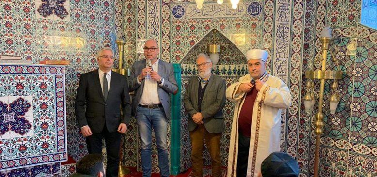 Başkan Hartmann, Northeim DİTİB Camii'ni ziyaret etti