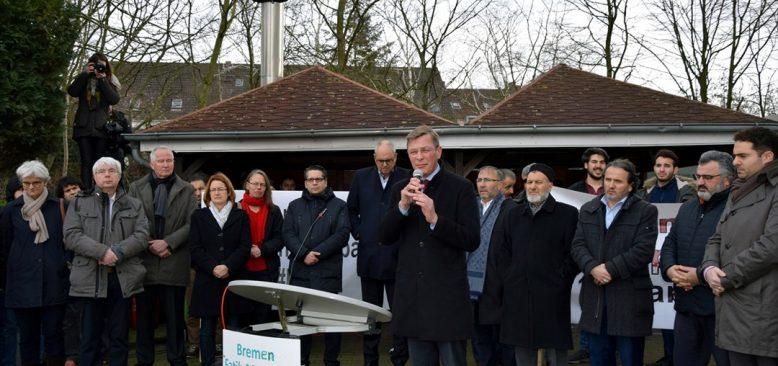 Bremen Eyalet Başbakanı Andreas Bovenschulte: Toplumumuzda ırkçılık ve İslam düşmanlığına yer yok