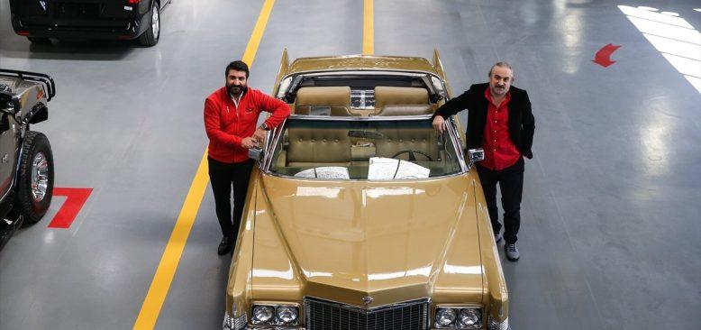 Volkan Konak, Elvis Presley'in koleksiyonundan aldığı klasik otomobiline kavuştu