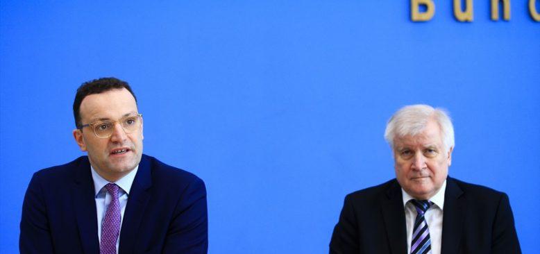 Almanya'da Kovid-19 nedeniyle kriz masası oluşturuldu