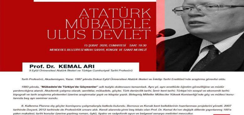 """Tanınmış Tarihçi Prof. Dr. Kemal Arı'dan """"Aydınlanma Konferansları"""""""