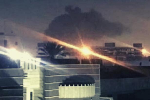 ABD'nin Bağdat Büyükelçiliği'ne füze saldırısı