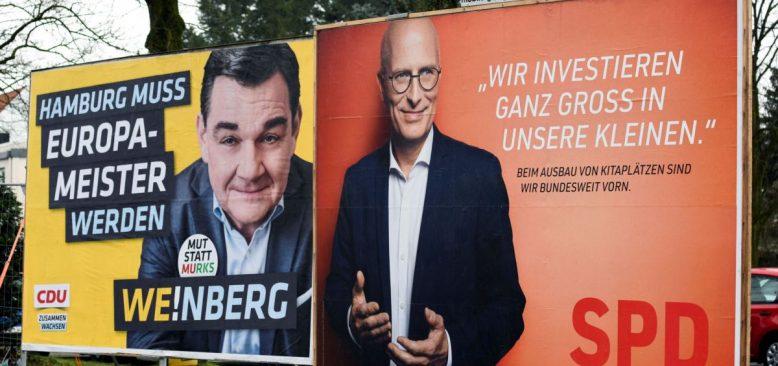 Hamburg'daki Seçimin İlk Sonuçları: Merkel ve AfD'ye Darbe