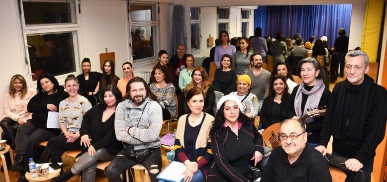 Berlin Türk Çağdaş Musiki Topluluğu harika bir konsere hazırlanıyor