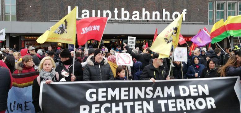 Irkçı Hanau Saldırısı Duisburg'ta Kınandı