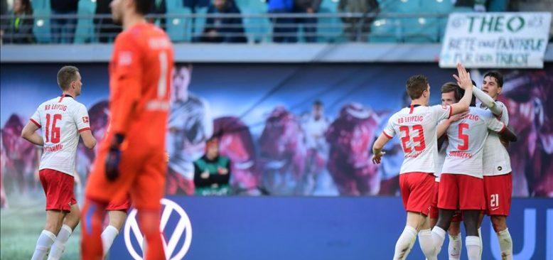 Leipzig, Werder Bremen karşısında 3 puanı 3 golle aldı