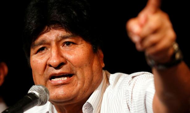 Morales gelecek seçimler için senatör adayı oldu