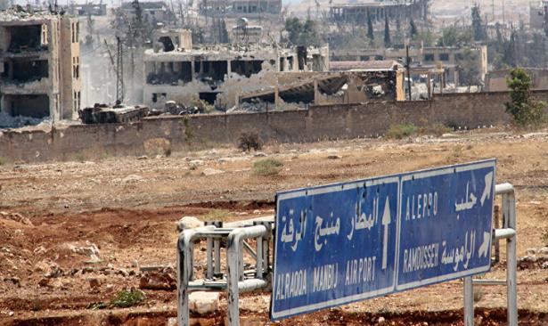 Suriye'nin Halep kentinde cami ve anaokuluna saldırı