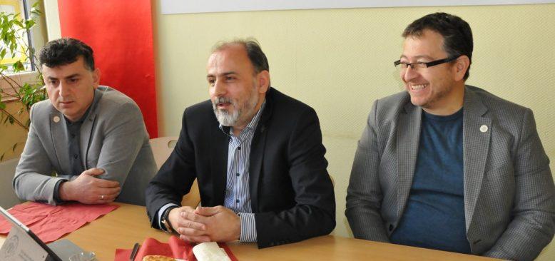 Berlin Türk Cemaati Basına bilgi verdi