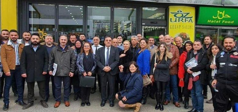 Hamburg Türk Basın Birliği'nde Emin Sağlık dönemi