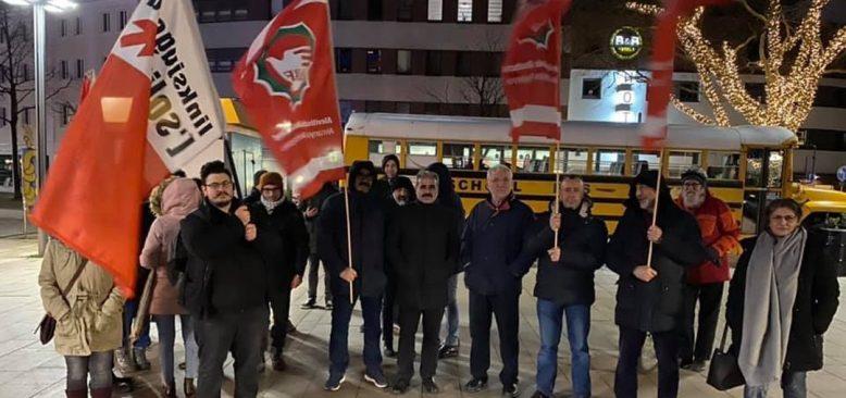 Hamm 'da Irkçı katliam protesto edildi