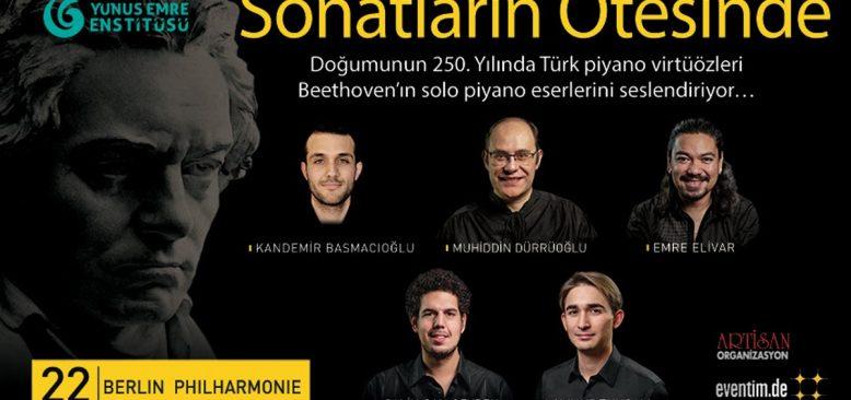 Türk Piyano Virtüözleri 22 Şubat'ta Berlin Filarmoni'de