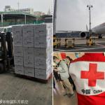 Çinli uzmanlar 31 tonluk tıbbi malzemeyle İtalya'ya gidiyor