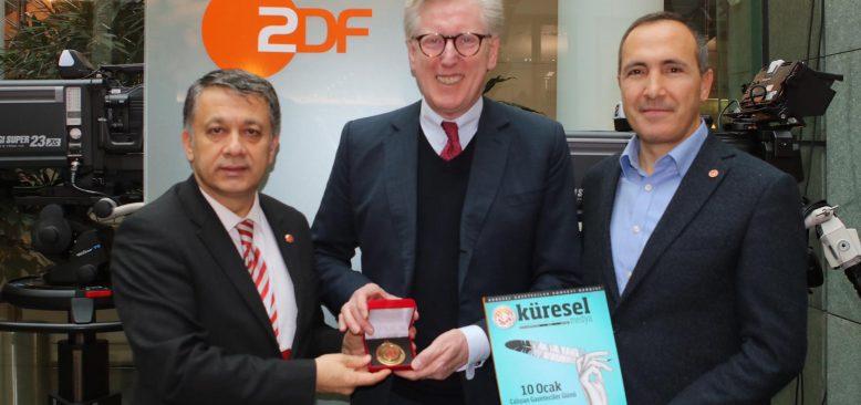KGK Berlin'de Alman medyası ile buluştu