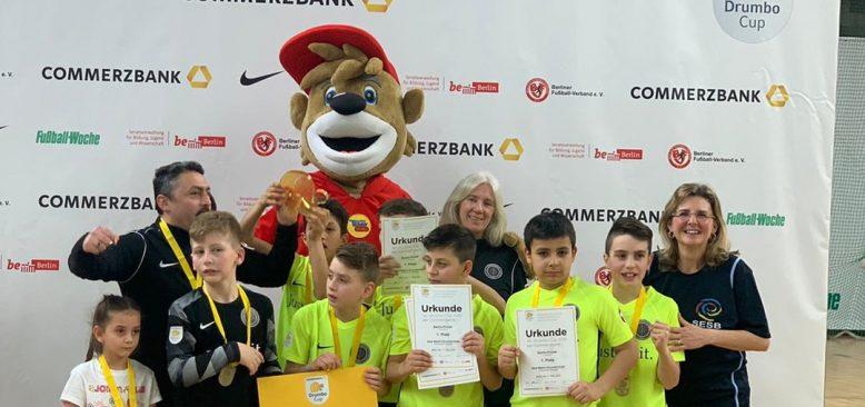 Aziz-Nesin Avrupa İlkokulu, Berlin Drumbo Cup 2020 Şampiyon