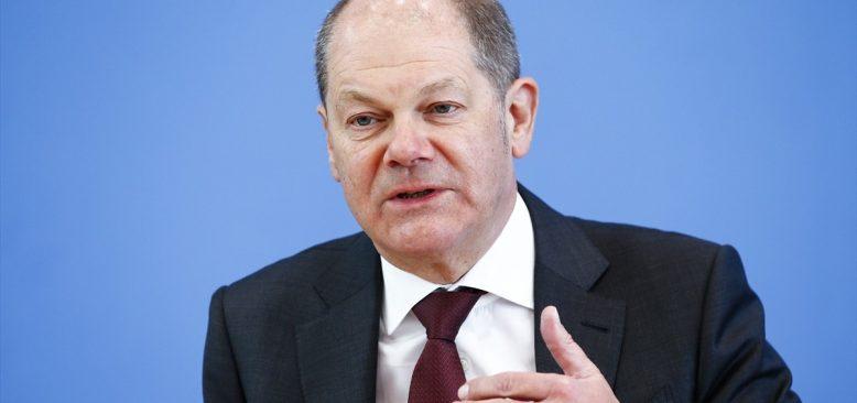 Alman Maliye Bakanı Scholz: