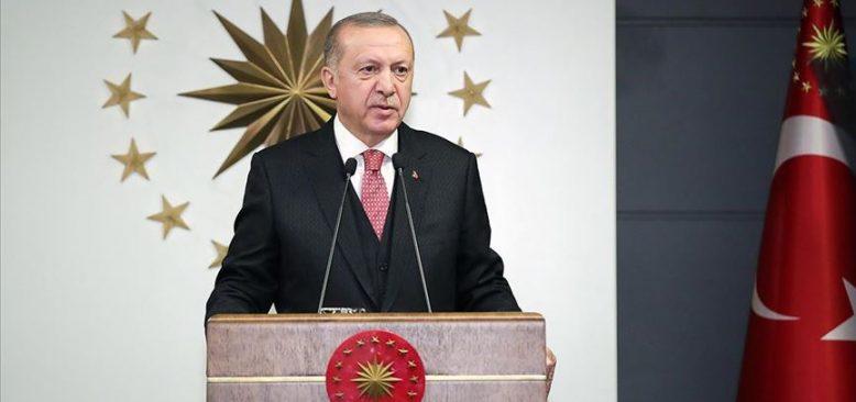 Cumhurbaşkanı Erdoğan 'milli dayanışma' kampanyası başlattı