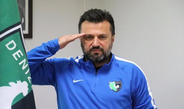Denizlispor Teknik Direktörü maçların devamını böyle yorumladı: Göklerden gelen bir karar var