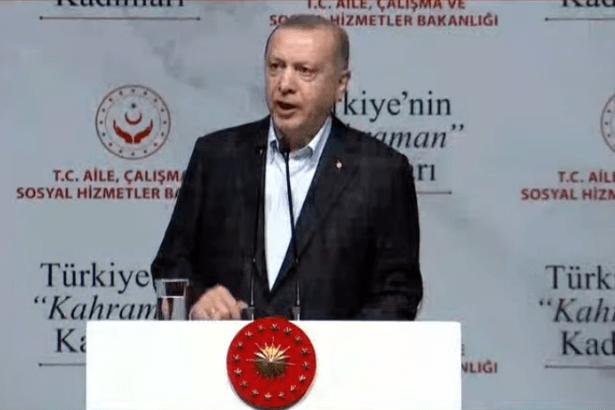 Erdoğan'dan 8 Mart mesajı: Bizim kadına bakışımız çok açık ve nettir; insanlığın yarısı erkek, yarısı kadındır