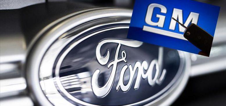 Ford ve General Motors, Amerika'daki üretimlerine ara verecek