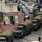 Fransa'da vaka sayısı 8 bine yaklaştı, asker sokakta göreve başladı
