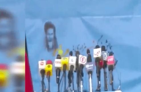 Kabil'de siyasi liderlerin katıldığı törene bombalı ve silahlı saldırı