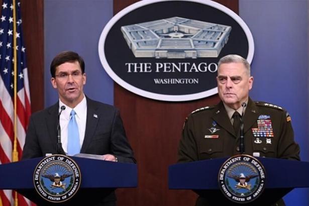 Pentagon salgının 3 ay sürmesini öngörüyor