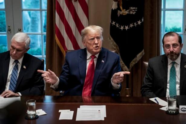 Trump: New York, New Jersey ve Connecticut'ta karantina kararı alabilirim