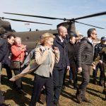 Yunanistan Başbakanı AB Yetkilileriyle Sınırı Ziyaret Etti
