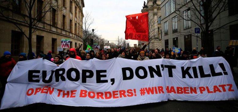 'Avrupa öldürme, sınırlarını aç'