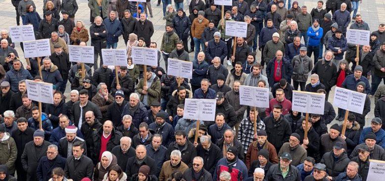 Krefeld'de nefret ve ırkçılığa karşı birlik mesajı verildi