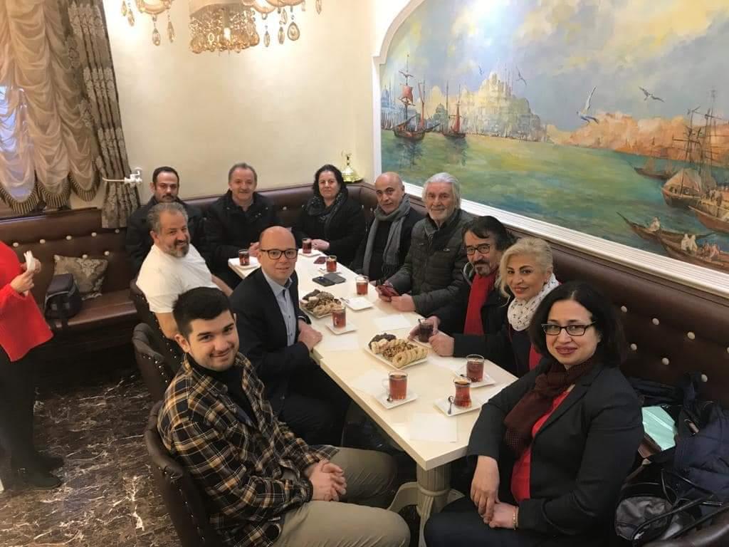 Nürnberg Belediye Başkan Adayı, Türk Esnafını Gezdi