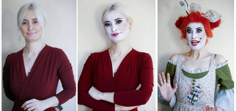 Hayat verdikleri karakterler için makyajla değişen yüzler