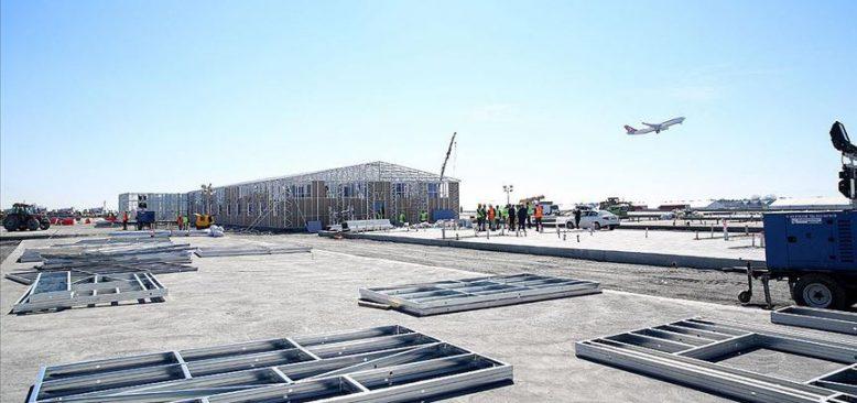 Keskin'den Atatürk Havalimanı'nda yapılan hastaneye ilişkin açıklama