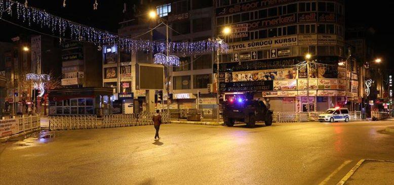 30 büyükşehir ile Zonguldak'ta sokağa çıkma yasağı başladı
