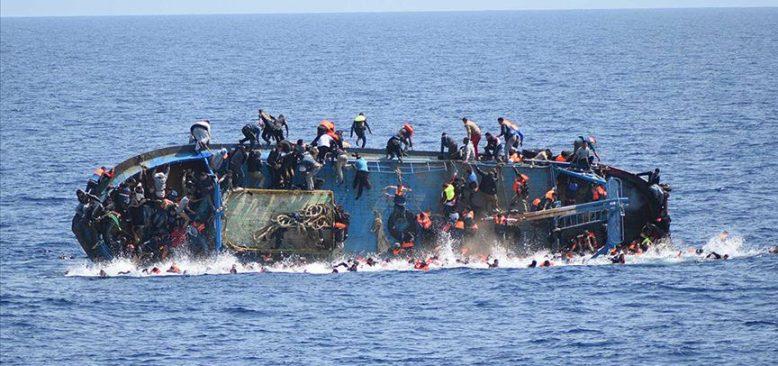 Akdeniz'de göçmen faciası iddiası
