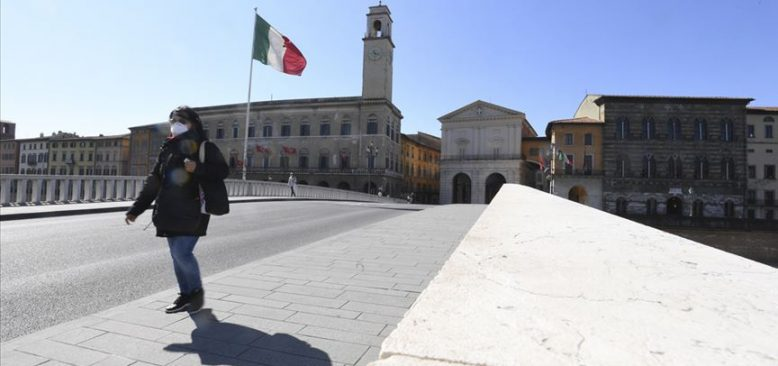 İtalya'da 562 kişi Covid-19'dan hayatını kaybetti