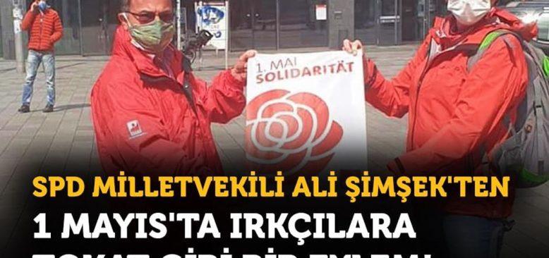 Ali Şimşek'ten ırkçılara karşı tokat gibi eylem