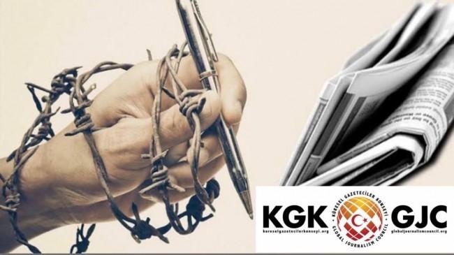 KGK: Basın özgürlüğü dünyada tartışılıyor