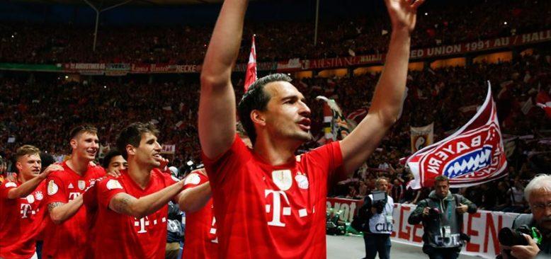 Bayern Münih, Eintracht Frankfurt engelini 5 golle aştı