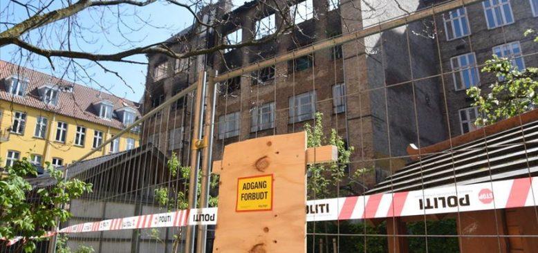 Danimarka'daki cami yangınında 'kundaklama' şüphesi