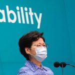 Hong Kong Lideri'nden Çin'in Güvenlik Yasası'na Destek