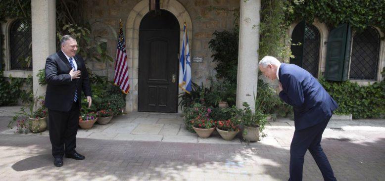 Pompeo'dan Salgın Gölgesinde İsrail'e Destek Ziyareti