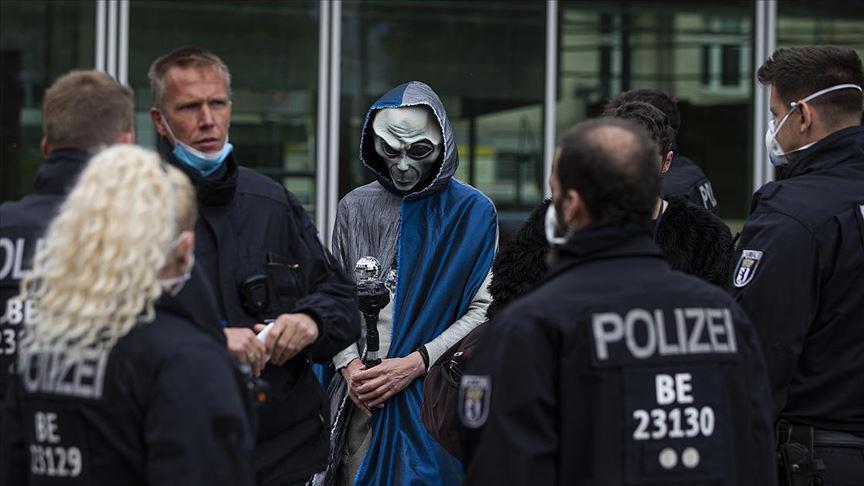 Almanya'da protestolar durmuyor