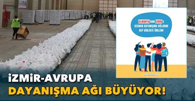 'İzmir-Avrupa Dayanışma Ağı' büyüyor